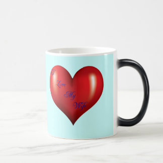 I Love My Wife Magic Mug