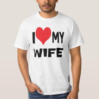 I love my wife. T-Shirt