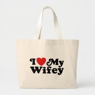 I Love My Wifey Bag