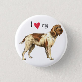 I Love my Wirehaired Pointing Griffon Button