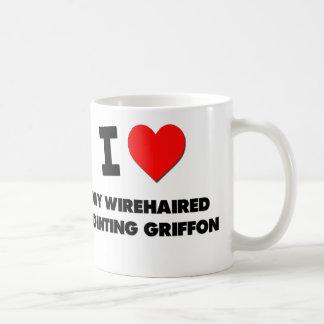 I Love My Wirehaired Pointing Griffon Coffee Mug