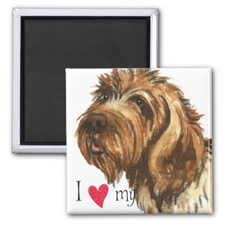 I Love my Wirehaired Pointing Griffon Magnet