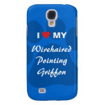 I Love My Wirehaired Pointing Griffon Samsung Galaxy S4 Cover