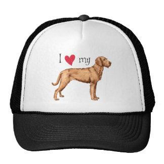 I Love my Wirehaired Vizsla Trucker Hat