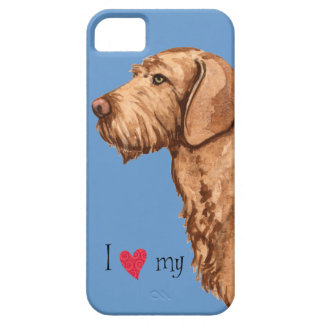 I Love my Wirehaired Vizsla iPhone SE/5/5s Case