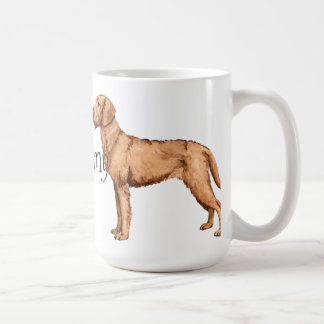 I Love my Wirehaired Vizsla Classic White Coffee Mug
