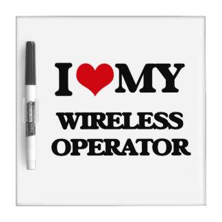 I love my Wireless Operator Dry-Erase Boards