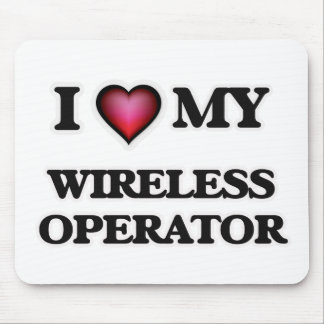 I love my Wireless Operator Mouse Pad