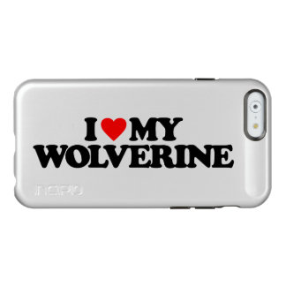 I LOVE MY WOLVERINE INCIPIO FEATHER® SHINE iPhone 6 CASE