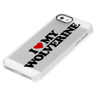 I LOVE MY WOLVERINE UNCOMMON PERMAFROST® DEFLECTOR iPhone 5 CASE