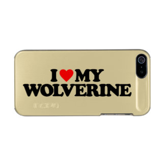 I LOVE MY WOLVERINE INCIPIO FEATHER® SHINE iPhone 5 CASE