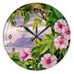 I Love My Wonderful Sister - Tropical Landscape Clock