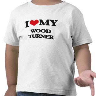 I love my Wood Turner Tee Shirts