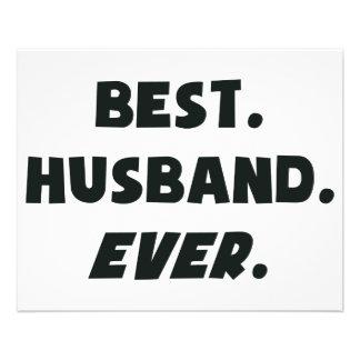 I Love My Worlds Best Husband Ever Flyer