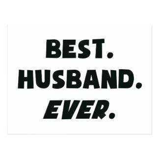 I Love My Worlds Best Husband Ever Postcard