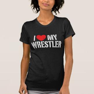 I Love My Wrestler Shirt
