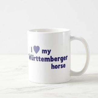 I love my Württemberger horse mug (blue)