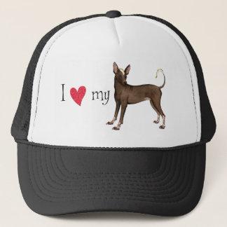 I Love my Xolo Trucker Hat