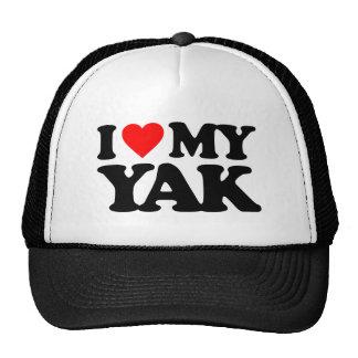 I LOVE MY YAK MESH HATS
