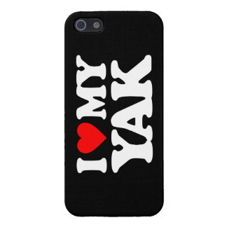 I LOVE MY YAK iPhone 5 COVERS