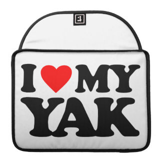 I LOVE MY YAK SLEEVE FOR MacBook PRO