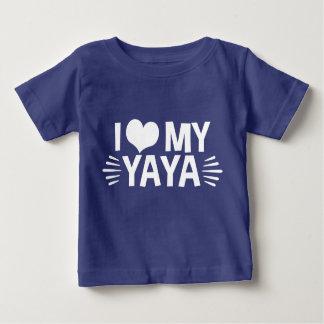 I Love My Yaya Baby T-Shirt