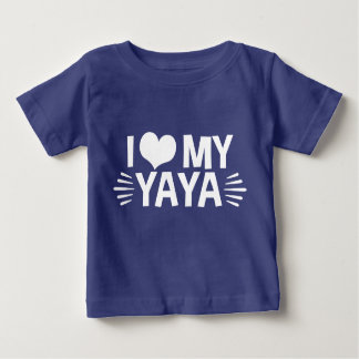 I Love My Yaya Infant T-shirt