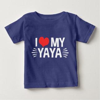 I Love My Yaya Tee Shirt