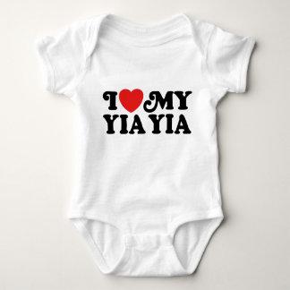 I Love My Yia Yia Tee Shirt