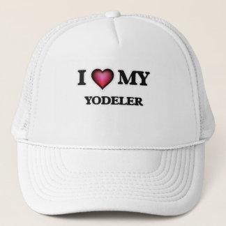 I love my Yodeler Trucker Hat