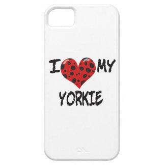 I Love My Yorkie iPhone SE/5/5s Case