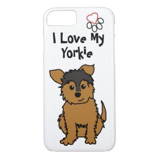 I Love My Yorkie Phone Case