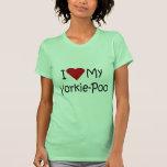 I Love My Yorkie-Poo Dog Shirt for Dog Lovers