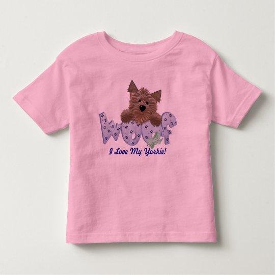 I Love My Yorkie! Toddler T-shirt