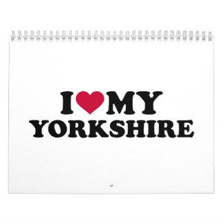 I love my Yorkshire Terrier Calendar