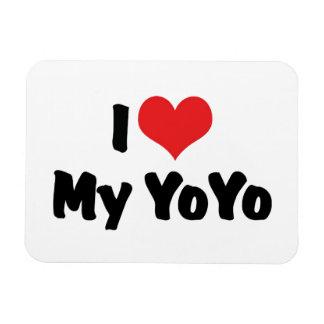 I Love My YoYo Flexible Magnets