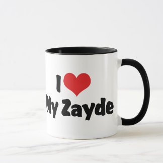 I Love My Zayde Mug