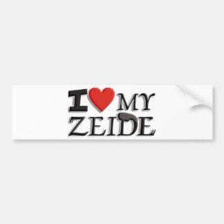 I love my Zeide Bumper Sticker