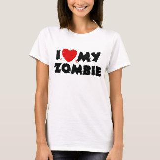 I Love My Zombie T-Shirt