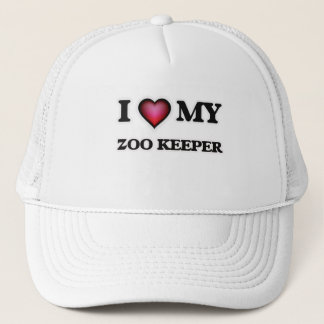 I love my Zoo Keeper Trucker Hat