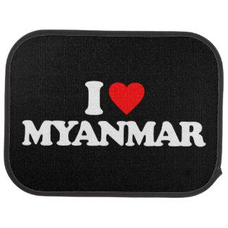 I LOVE MYANMAR CAR MAT