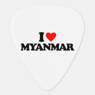 I LOVE MYANMAR GUITAR PICK