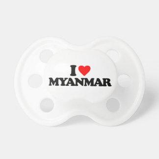 I LOVE MYANMAR PACIFIER