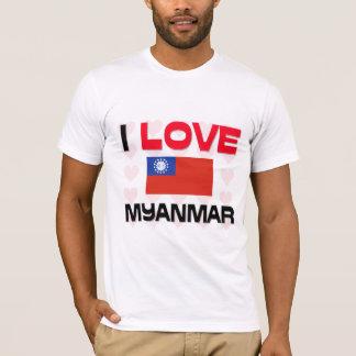I Love Myanmar T-Shirt