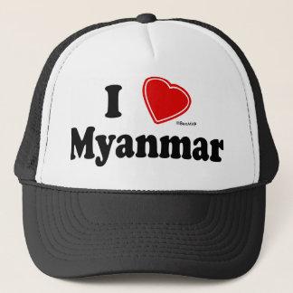 I Love Myanmar Trucker Hat