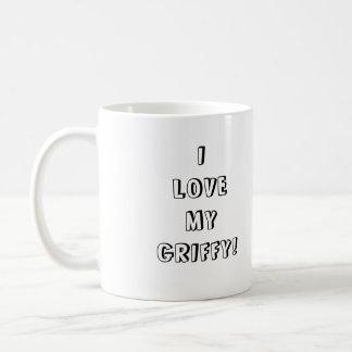I LOVE MYGRIFFY! COFFEE MUGS