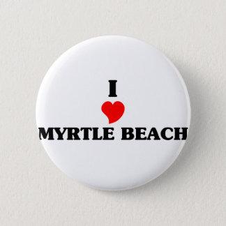 I love Myrtle Beach Button