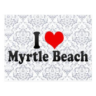 I Love Myrtle Beach, United States Postcard