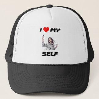 I LOVE MYSELF - ADD YOUR OWN PHOTO VANITY CAP HAT