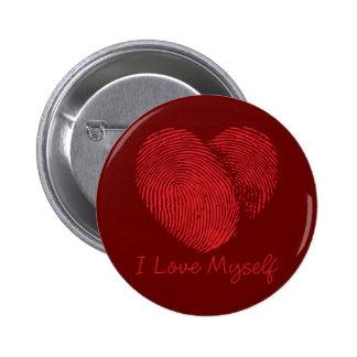 I Love Myself Button